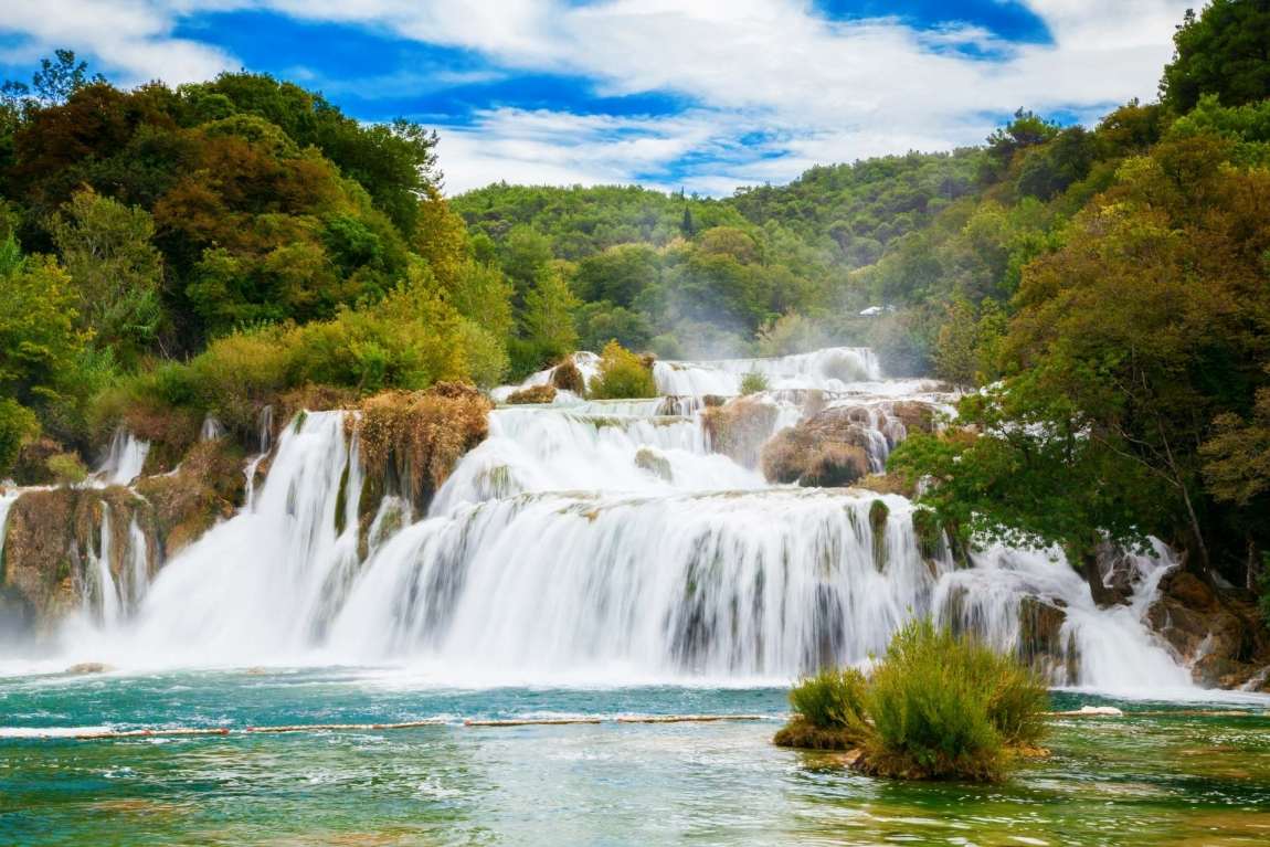 krka waterfall croatia holidays