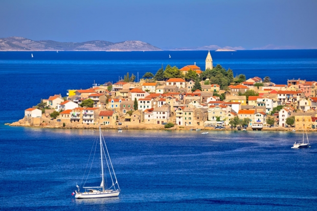 primosten view croatia holidays