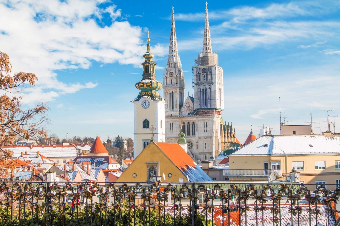 zagreb gric and cathedral croatia holidays