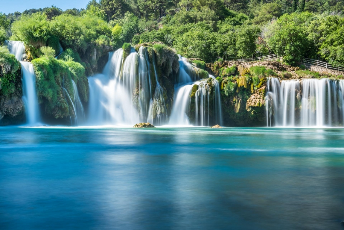 krka waterfall and lake croatia holidays