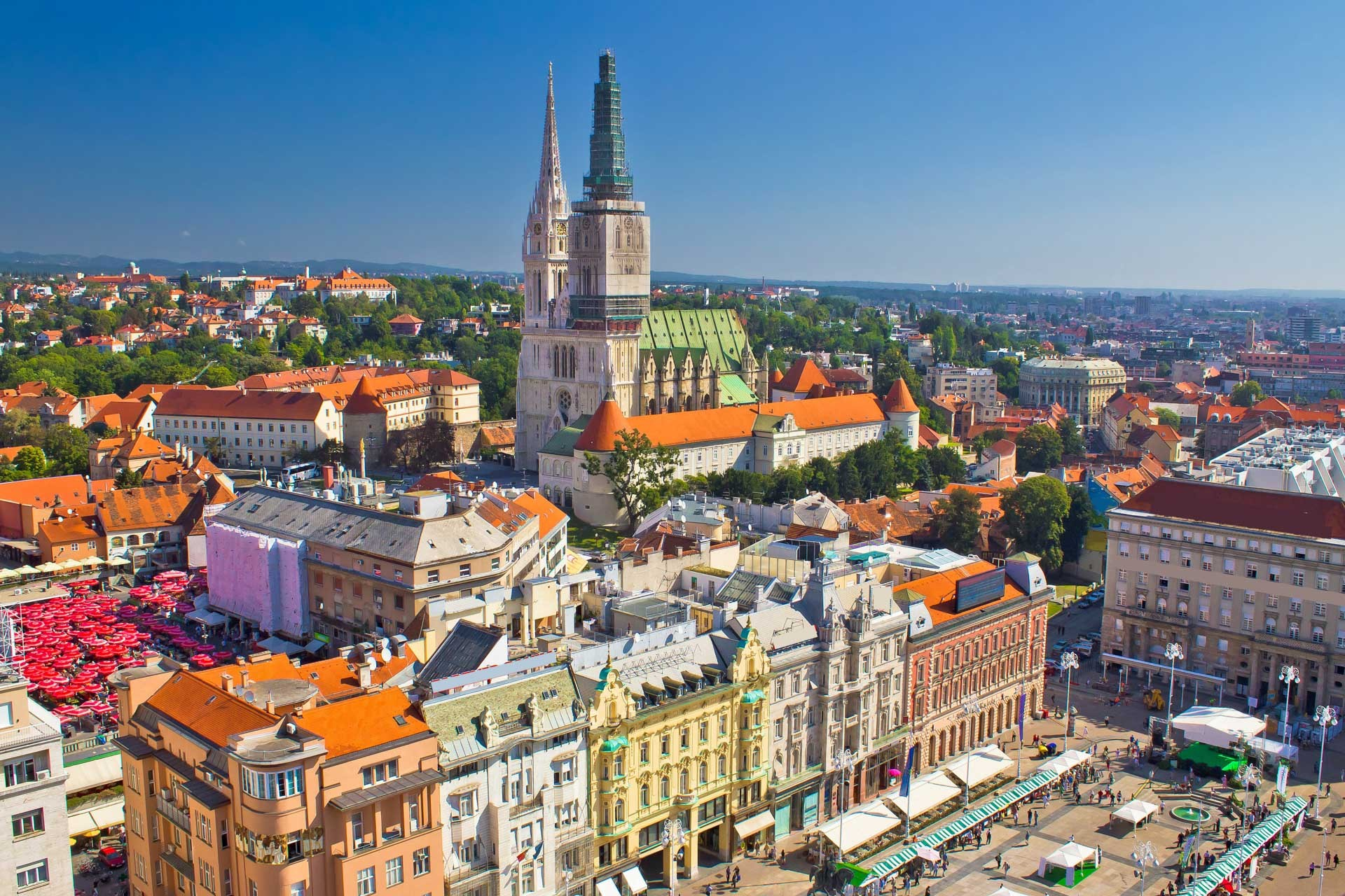 ZAGREB-ZAGREB with 3 countries in 9 days