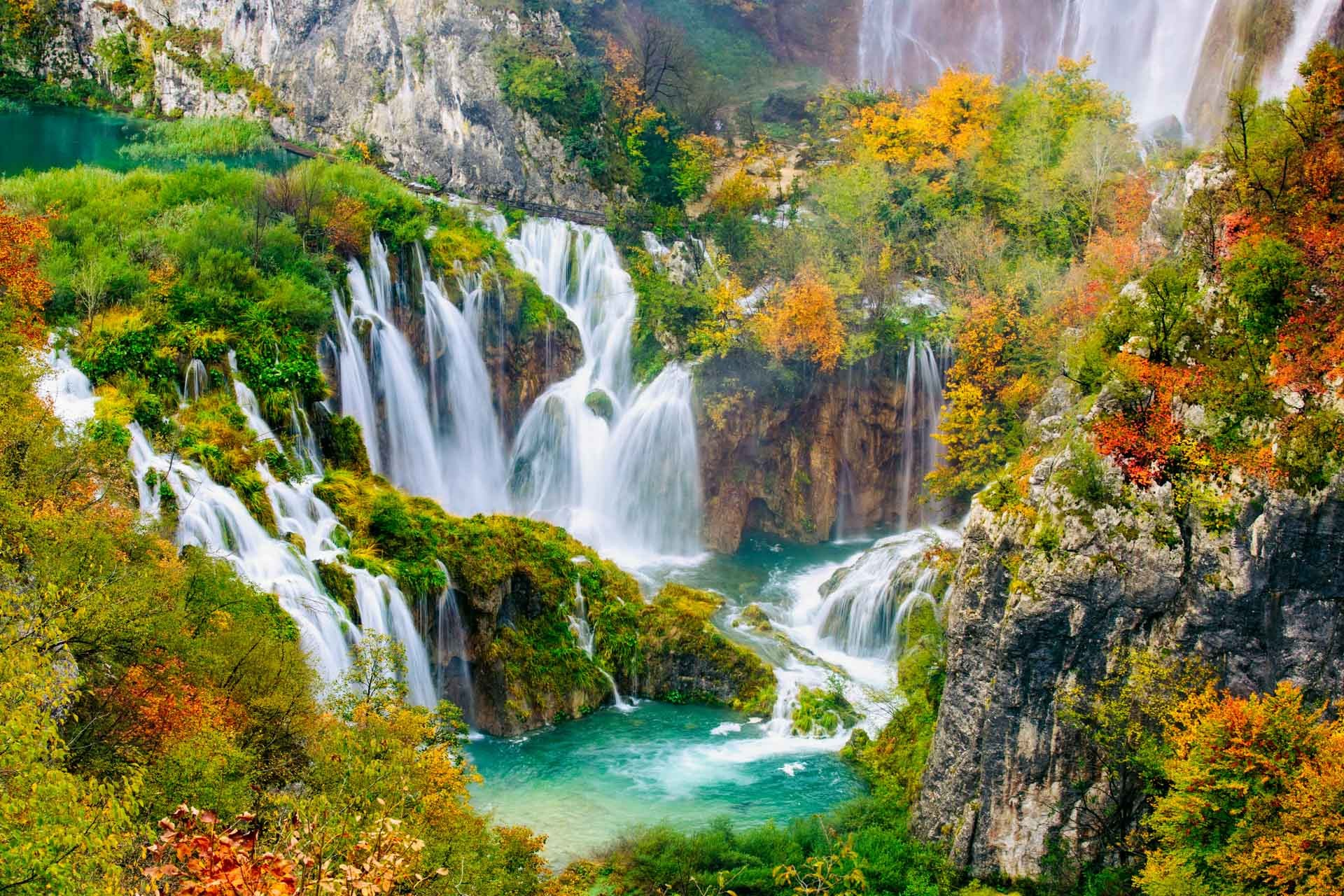 plitvice waterfalls croatia holidays