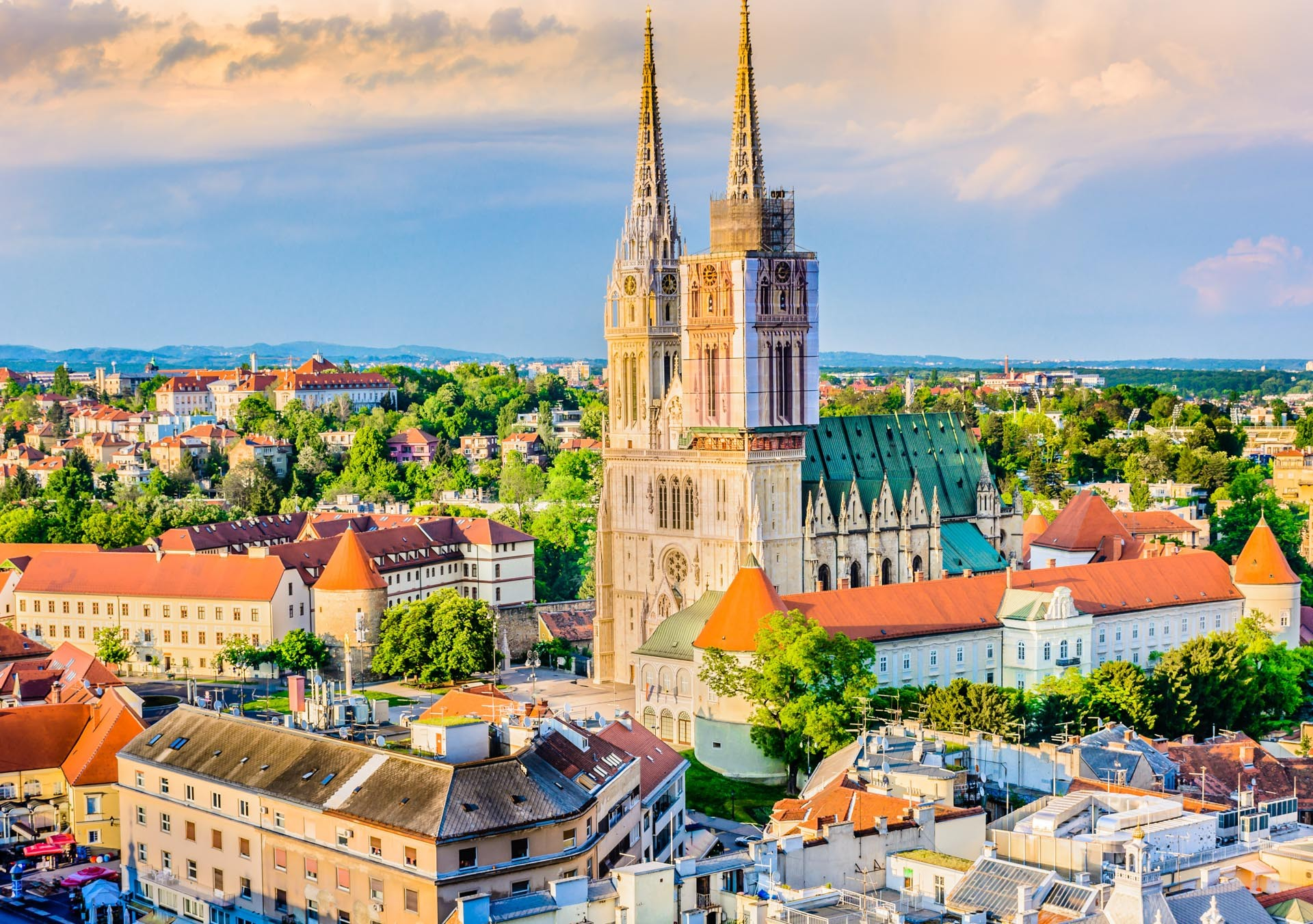 zagreb cathedral croatia holidays